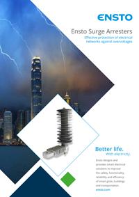 Brochure: Ensto Surge Arresters