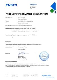 Product Performance Declaration H05VV-F 2019.pdf