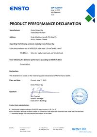Product Performance Declaration H05Z1Z1-F 2019.pdf